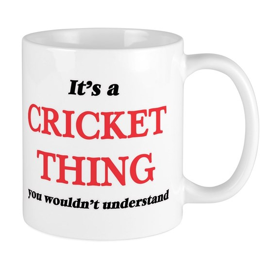 It's a Cricket thing, you wouldn't underst