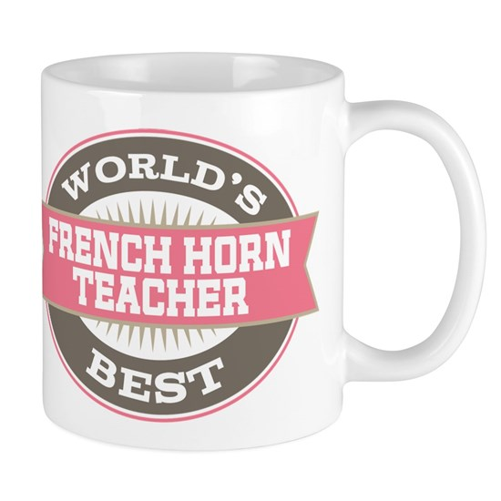 French Horn Teacher Gift