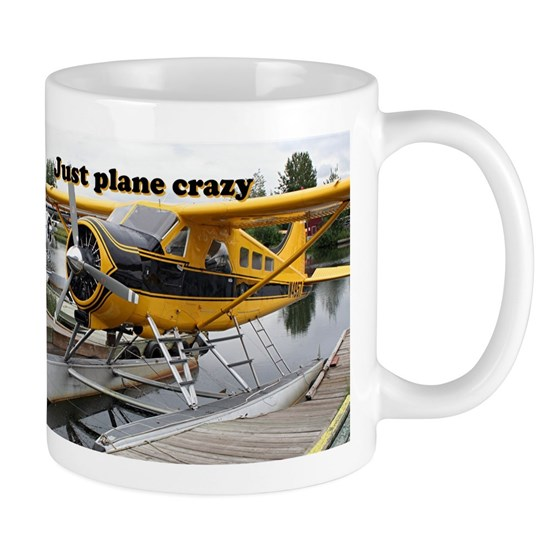 Just plane crazy: Beaver float plane,Lake Hood, Al