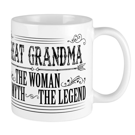 Great Grandma The Legend...