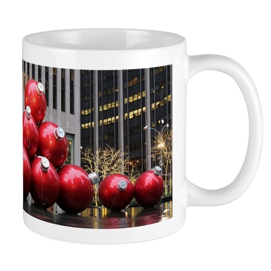 Christmas Ball Ornaments 11 oz Ceramic Mug