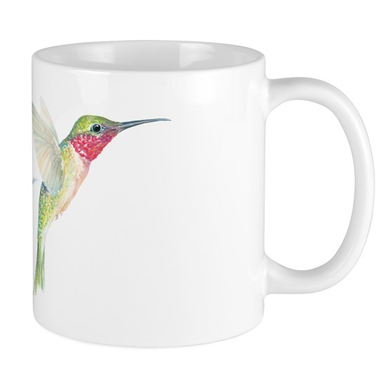 cheerful hummingbird