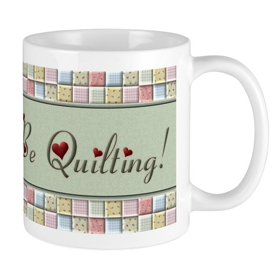 i'd rather be quilting mug