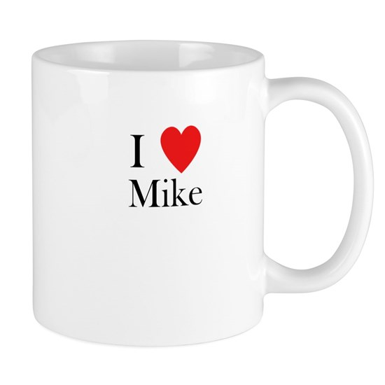 i love mike heart
