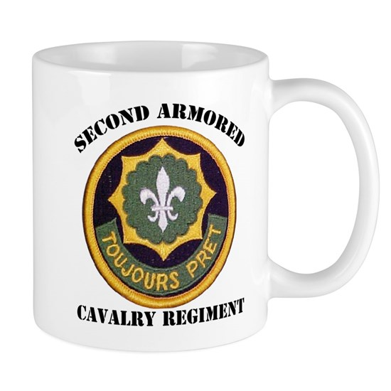 11 Oz Ceramic Mug SECOND ARMORED CAVALRY REGIMENT Mug By