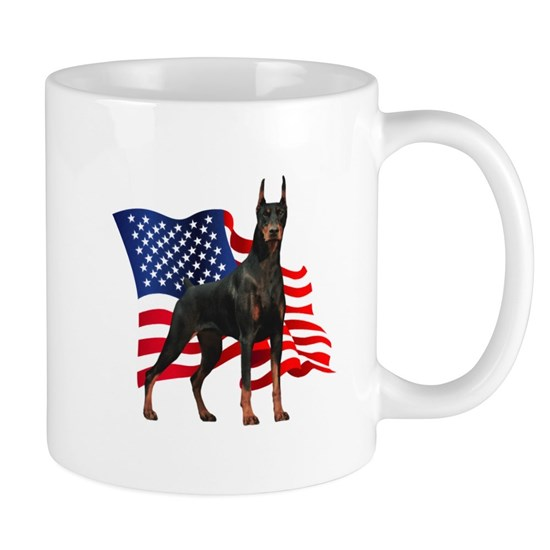 Patriotic Doberman