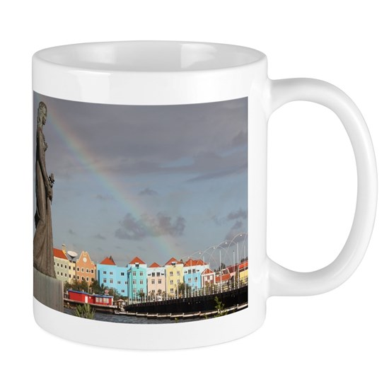 Curacao Rainbow 11 oz Ceramic Mug