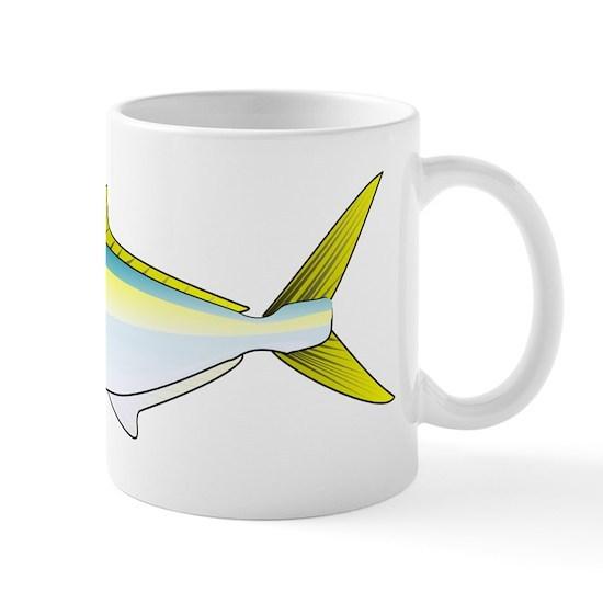 California Yellowtail fish 11 oz Ceramic Mug