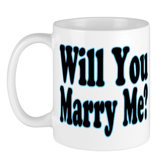 Will You Marry Me blue