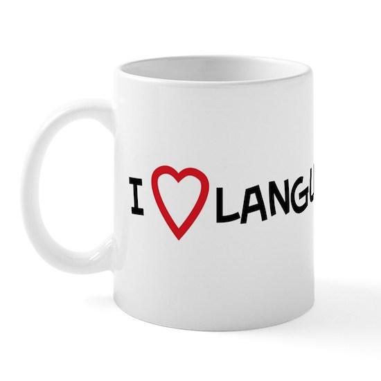 I Love Language Arts Mug by ilovesomething |Love Language Arts