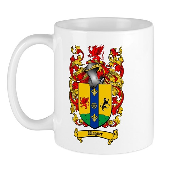 wagner 11 oz ceramic mug wagner coat of arms mug by coat. Black Bedroom Furniture Sets. Home Design Ideas