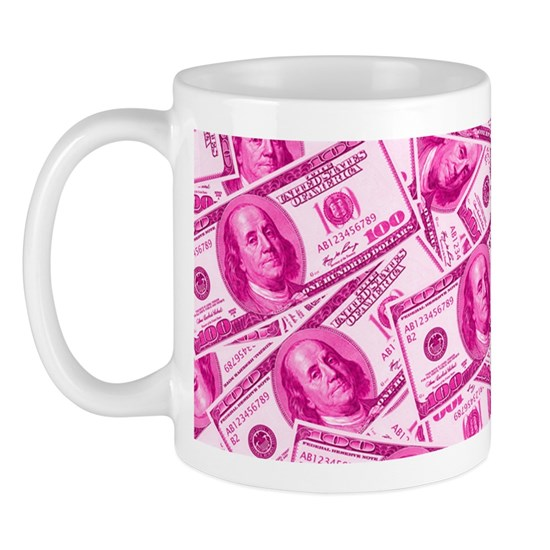 Pink Hundred Dollar Bill Pattern