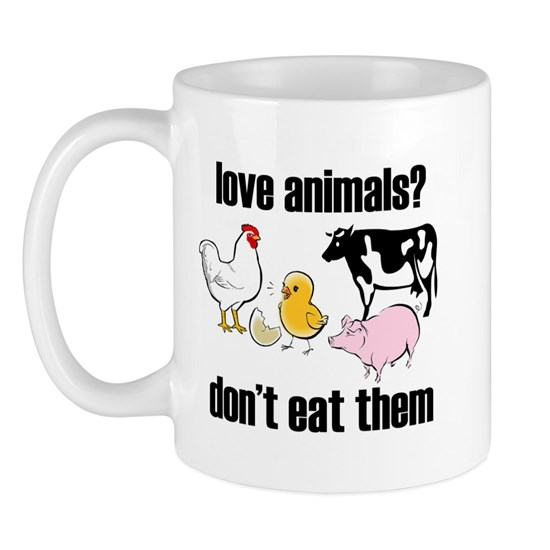 love animals don't eat them copy