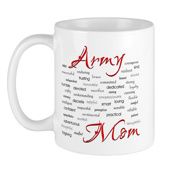 Army Mom poem in words 11 oz Ceramic Mug