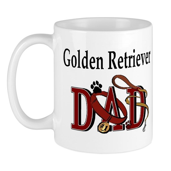 Golden Retriever ADJ 11 Oz Ceramic Mug Golden Retriever