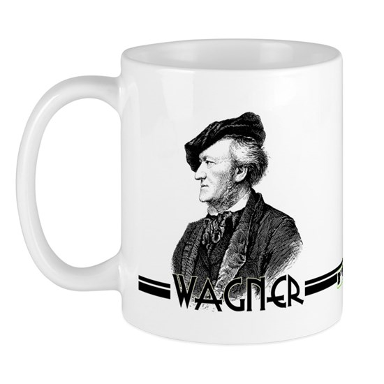 wagner mug 11 oz ceramic mug wagner mug by bandnerd com. Black Bedroom Furniture Sets. Home Design Ideas