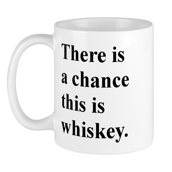 There is a chance this is whiskey.