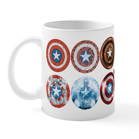 Captain America 75th Anniversary Twelve Shields