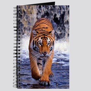 Tiger In Waterfall Journal