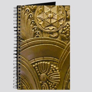 Beautiful Gold Art Deco Floral Journal
