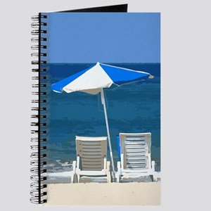 Beach Chairs and Umbrella Journal