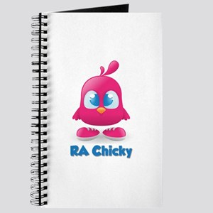 RA Chicks Cute Pink Chicky Journal
