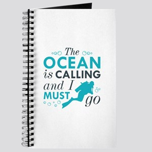 The Ocean Is Calling Journal