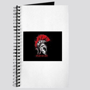 Spartan Helmet, Spartan life tag Journal
