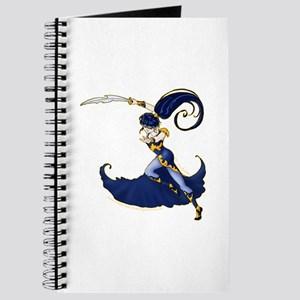 Anime Warrior Woman Journal