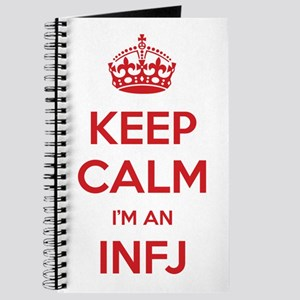 Keep Calm I'm An INFJ Journal