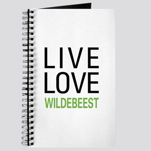 Live Love Wildebeest Journal