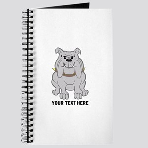 Bulldog personalized Journal