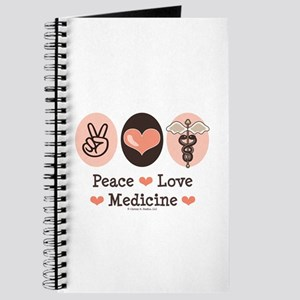 Peace Love Medicine Caduceus Journal