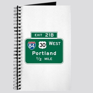 Portland, OR Highway Sign Journal