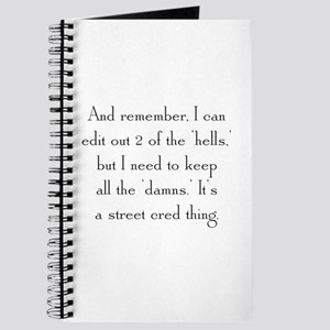 Street Cred Thing Journal