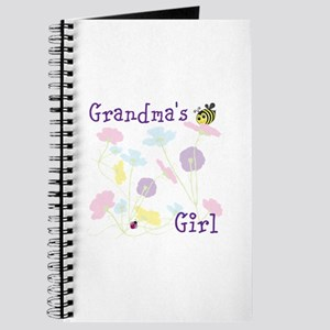 Flower Bees and Lady Bug Journal