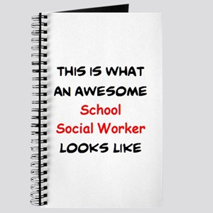 awesome school social worker Journal