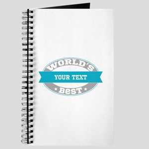 Worlds Best Personalized Journal