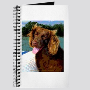 Boykin Spaniel on Board Journal