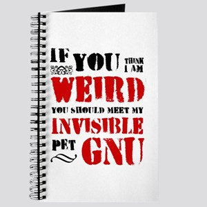 'Invisible Pet Gnu' Journal