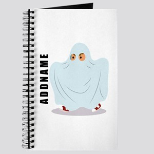 Halloween Ghost Custom Name Journal