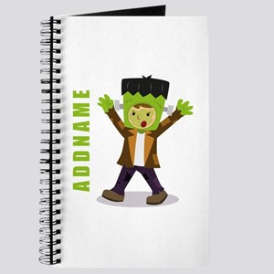 Halloween Green Goblin Personalized Journal