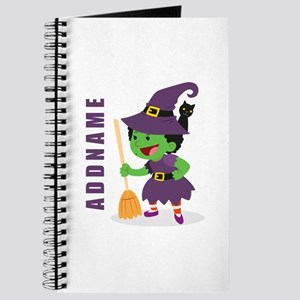 Personalized Halloween Journal