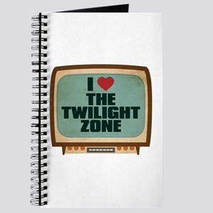 Retro I Heart The Twilight Zone Journal