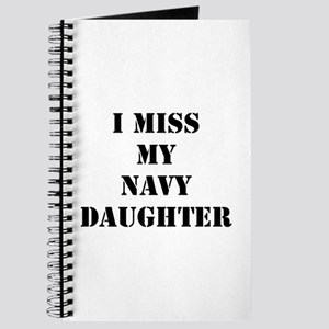 I Miss My Navy Daughter Journal