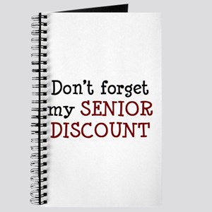 senior discount Journal