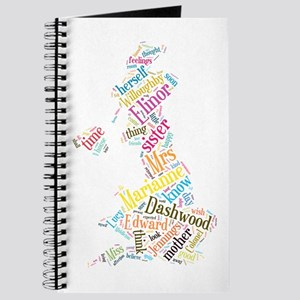 Sense and Sensibility Word Cloud Journal