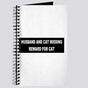 Husband & Cat Missing... Journal