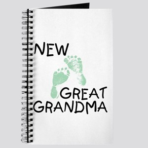New Great Grandma (green) Journal
