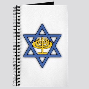 Star of David with Menorah Journal